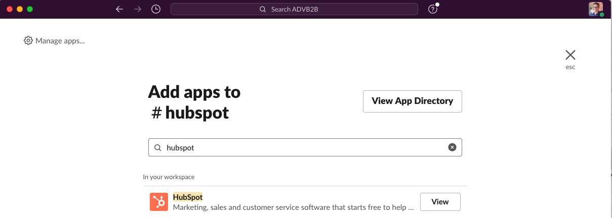 Hae-HubSpot-app