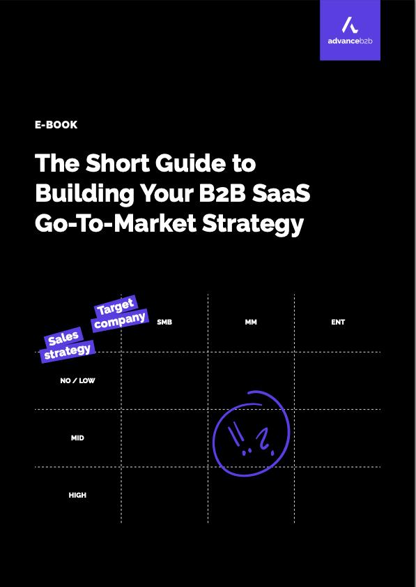 b2b saas go to market ebook